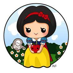 Doll: Snow Whitey by adrybsk.deviantart.com on @DeviantArt