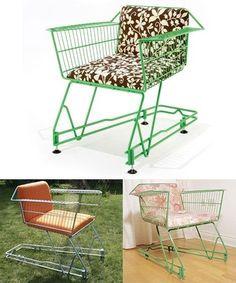 Shopping trolly chair
