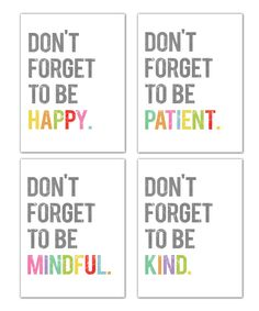 Fresh Words Market Dont Forget Print Set | zulily