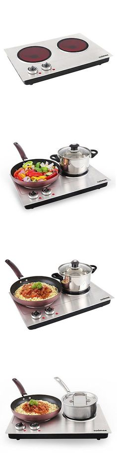 Burners and Hot Plates 177751: Cusimax Cmip-C180 1800W Infrared Cooktop, Ceramic Double Countertop Burner With -> BUY IT NOW ONLY: $91.05 on eBay!