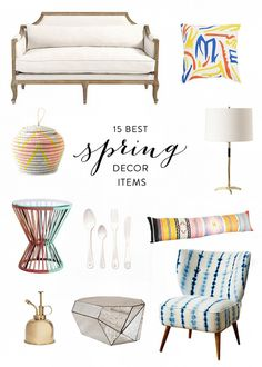 The 15 Best (New) Spring Decor Items