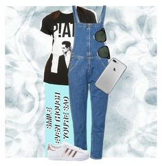 """""""Panicking!"""" by jankatt on Polyvore featuring M.i.h Jeans, adidas and Spitfire"""
