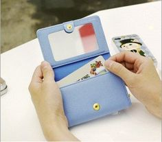 Bowknot Mirror Metal Chaining Wallet Only $4.5/pcs