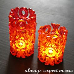 DIY Valentine's Day XOXO Tea Lights  Please help me increase this posts reach! √ Like √ Comment √ Share √ Thank you!   Valentine's Day is a fun holiday there are certainly fun ways to add a little of Cupid's touch without being overwhelming. Here's are several big ideas for small touches to add just the right amount of Valentine's decor to your home: