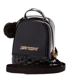 Another great find on #zulily! Betsey Johnson Black Don't Be Jelly Mini Backpack by Betsey Johnson #zulilyfinds