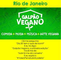 www.facebook.com/galpaoladeiradasartes    #eventovegano #veganismo  #veganismobrasil   #brasil #comidavegana #alimentacaovegana #culinariavegana  #gastronomiavegana #produtosveganos #produtovegano  #aplv  #lactose #vegan #vegana #vegano #riodejaneiro #cosmevelho #galpaovegano
