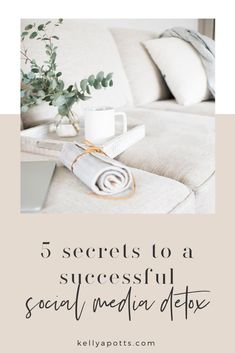 5 Secrets to A Successful Social Media Detox — Kelly Potts Social Media Break, Social Media Detox, Remember Why You Started, Digital Detox, Anxiety Tips, How To Stop Procrastinating, Finding Happiness, Wellness Tips, Self Development