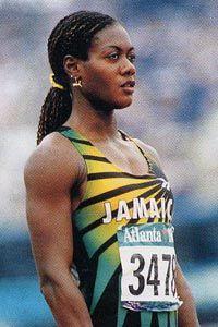 Merlene Ottey, Jamaica- legendary Jamaican People, Jamaican Girls, Olympic Sports, Olympic Games, Daily Burn, Sports Personality, Athletic Girls, Usain Bolt, Caribbean