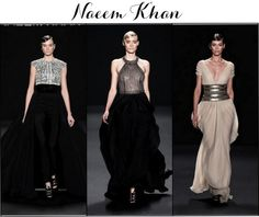 "Linen, Lace, & Love: Our Favorite ""Red Carpet"" Looks from the 2013 Spring and Fall Lines #NaeemKhan #Fall2013 #Fashionweek"