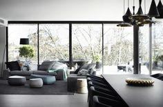 M-ydeas // Decoration d'interieur: Visite: Camaïeu de gris pour une décoration douce et délicate