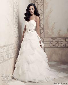 paloma blanca bridal 2013 wedding dresses 4357