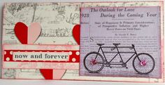 Creative Addiction to Paper: Canvas Corp Cards at CHA - The Outlook of Love from Gypsy Moments Collection to make handmade cards