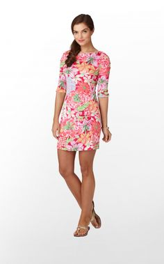 Lilly Pulitzer Jeanie Dress in Mariposa. $278.00