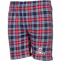 Arizona Wildcats Youth Countdown Plaid Boxer Shorts – Navy Blue - $15.99