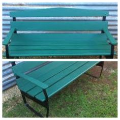 Colours for my garden bench Outdoor Furniture, Outdoor Decor, Benches, Colours, Park, Garden, Projects, Home Decor, Log Projects