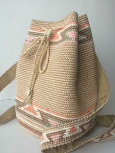 [original_tittle] – Bags and Purses 🛍 [pin_tittle] needlewoman Crochet Backpack, Backpack Pattern, Crochet Handbags, Crochet Purses, Knit Crochet, Crochet Hooks, Crochet Stitches, Tapestry Crochet Patterns, Bag Pattern Free