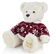 Harrods unveils 2012 Harrods Christmas Bear