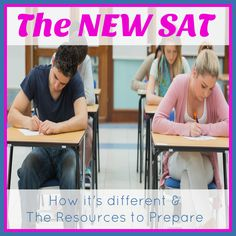 What does the New SAT Essay look like? How has it changed? What can you do to prepare your students for it? Find out how to tackle the SAT essay. Sat Essay Tips, Sat Tips, High School Years, I School, High School Students, Sat Tutoring, Homeschool Transcripts, New Sat, Importance Of Education
