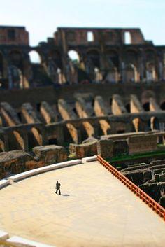 Rome tilt-shift