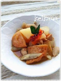 ル・クルーゼで超簡単☆平天&根菜の煮付♡