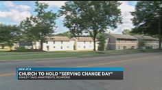 "The Liberation Church International, located on National Street in Richmond, will hold a ""Serving Change Day"" at the Ashley Oaks Apartment complex on Sunday, July 30."