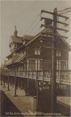 Station Restaurant Tilbury Dock: E2BN Gallery