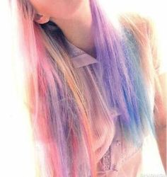 shades of pastel strands