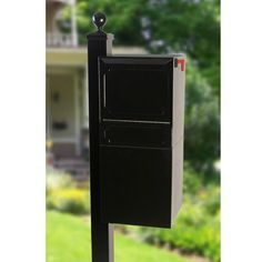 dVault Locking Post/Column Mount Mailbox with Side Mount Surface Post Kit - DVU0050SMPA-1-KIT, Black by DVault. $819.89. Full Service model with decorative design lines and high security standards. Box Constructed of heavy-duty, 14 gauge aluminum - Won't Rust. Locking Mail and Small Parcel Delivery Vault with Surface Mount Side Mount Post Kit. Anti-Pry Posi-Lock access door, heavy-duty 12 gauge aluminum. Stainless steel hinges and fasteners, and Made in the USA with Recycled...