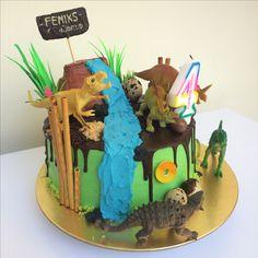 #dinosaurscake #birthdaycakeideas