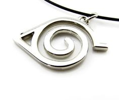 Cyqun(TM) Exquisite Naruto Konoha Necklace,A Great Gift For Naruto Fans