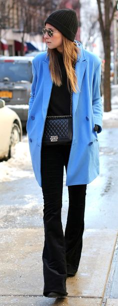 Colored Coat by We Wore What => Click to see what she wears