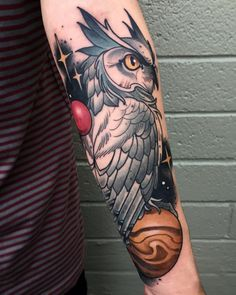 ElectricTattoos Tribal Arm Tattoos, Body Art Tattoos, Girl Tattoos, Sleeve Tattoos, Tattoos For Guys, Tatoos, Traditional Owl Tattoos, Traditional Tattoo Sketches, Crow Tattoo Design