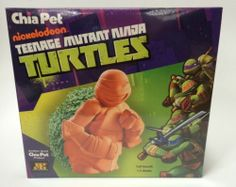 Nickelodeon Teenage Mutant Ninja Turtles Chia Pet Planter TMNT NEW IN BOX Fun