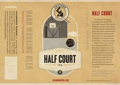 Indiana: Cutters Brewing Co. Half Court IPA | 50 Beers With Local Pride