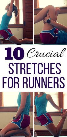 Complete these 10 best lower body stretches for runners after a running workout to stay injury free. These leg stretches are especially important for runners with tight hips or knee pain after a workout. This simple stretching routine targets all the majo Stretches For Knees, Stretches Before Running, Lower Body Stretches, Post Run Stretches, Leg Stretching, Running Workouts, Best Stretches For Runners, Calve Stretches, Running Tips