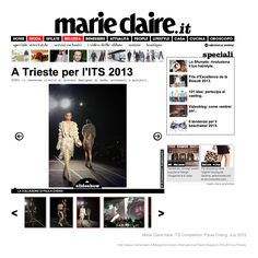 Paula Cheng :: Marie Claire Italia feature