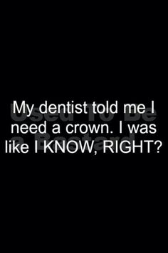 A little dental humor for a Monday...