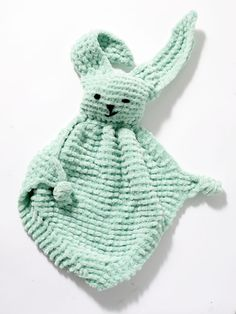 Bunny Blanket Buddy Pattern (Knit)
