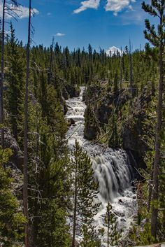 Kepler Cascades: Yellowstone National Park  Kepler Cascades is a gorgeous roadside waterfall.  Conveniently located just a few miles south of Old Faithful on the way to West Thumb.