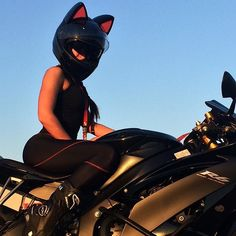 Cat Ear Motorcycle Helmets