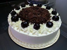Authentic Black Forest Cake (Schwarzwald...