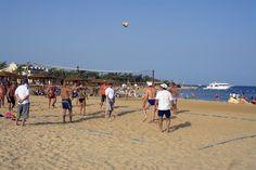 Volley-playa en #Hurghada, #Egipto
