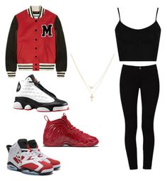 """""""Untitled #358"""" by tanasia2266 ❤ liked on Polyvore featuring Moschino, STELLA McCARTNEY, Topshop, Retrò, NIKE and Betsey Johnson"""