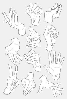 Hand Drawing Reference, Anime Poses Reference, Female Pose Reference, Main Manga, Drawing Base, Drawing Tips, Female Face Drawing, Drawing Hands, Gesture Drawing