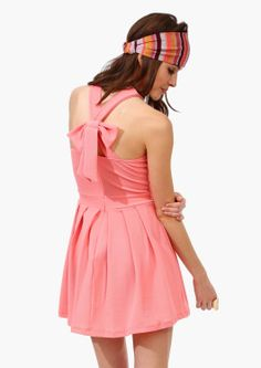 Goody Two Shoes Dress  - Peach