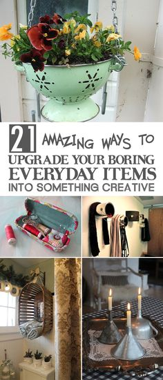 21 Amazing Ways To Upgrade Your Boring Everyday Items Into Something Creative