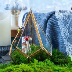Handmade Hanging Teardrop Shape Gold Glass Geomtric image 2 Wedding Ring Box, Gold Glass, Classic Elegance, Hanging Chair, Terrarium, Shapes, Handmade, Gifts, Gift Ideas
