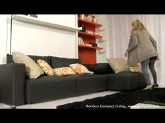 Wall bed   Bonbon wall beds UK · London space saving furniture, small space specialist.