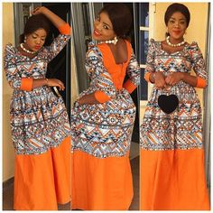 Beautiful Ankara Gown Design http://www.dezangozone.com/2016/06/beautiful-ankara-gown-design.html