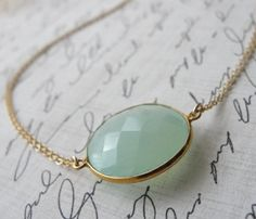 Peruvian Chalcedony Necklace